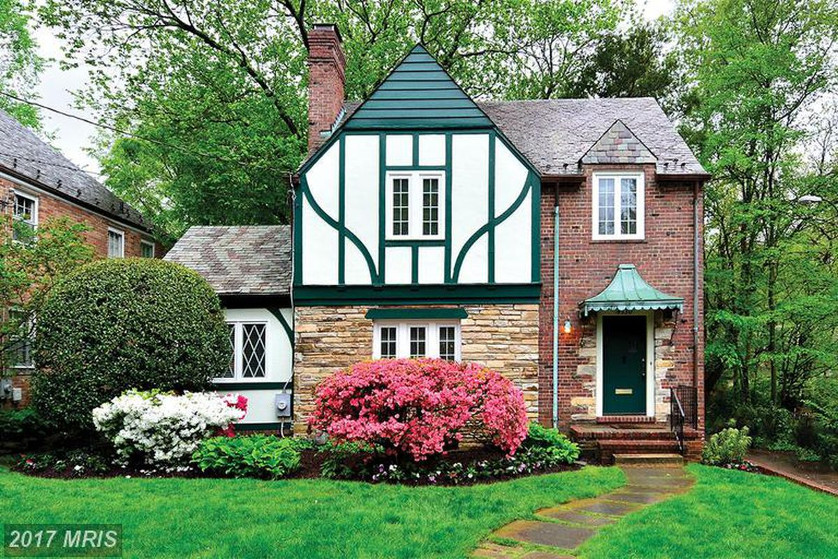 American university park tudor style home lands on market for Tudor style house for sale