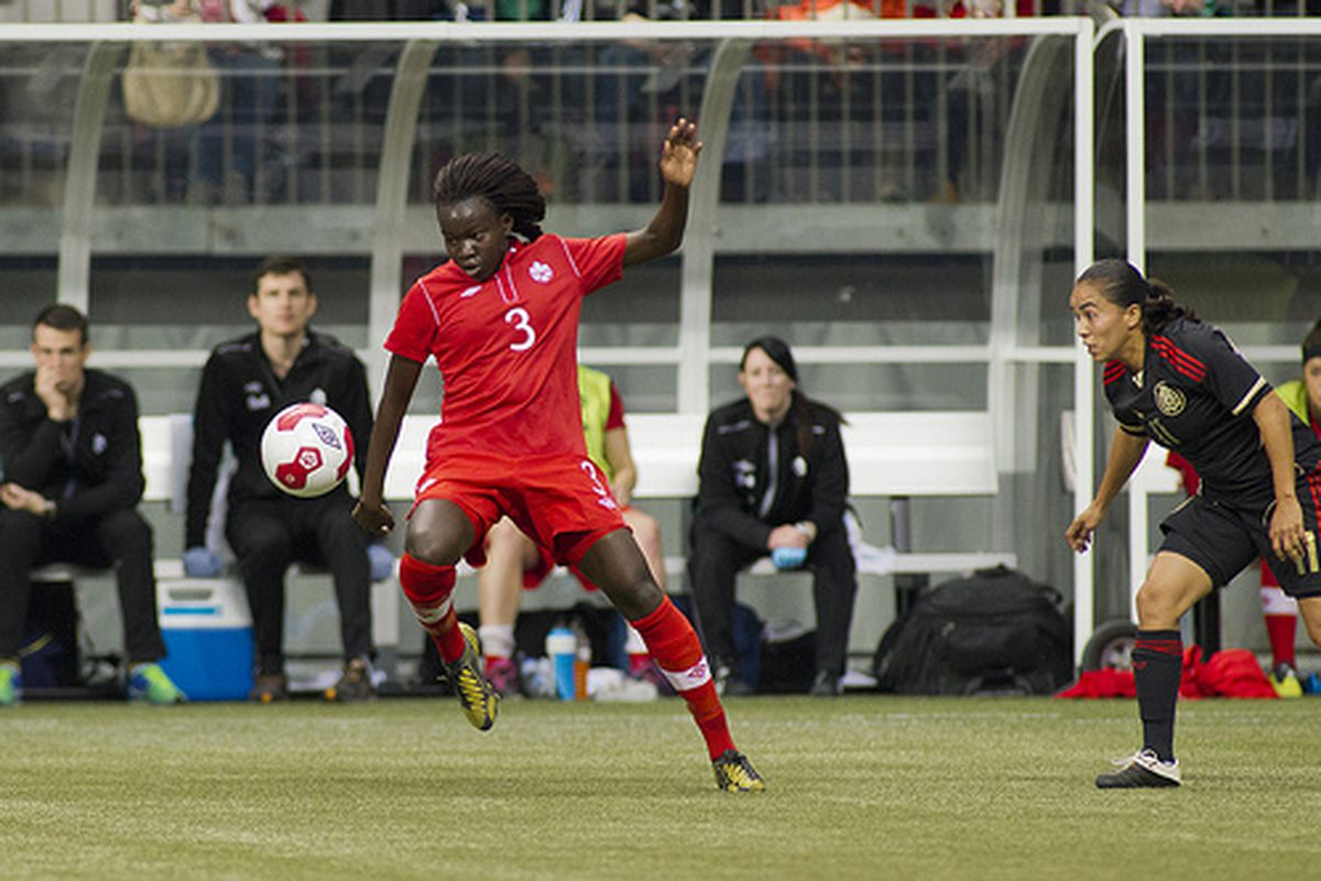 Yekka should be a start for Canada in the U20 World Cup