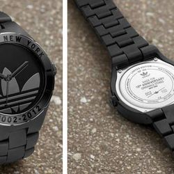 Adidas is selling a limited-edition Melbourne watch ($135) at the adidas Originals Soho store.