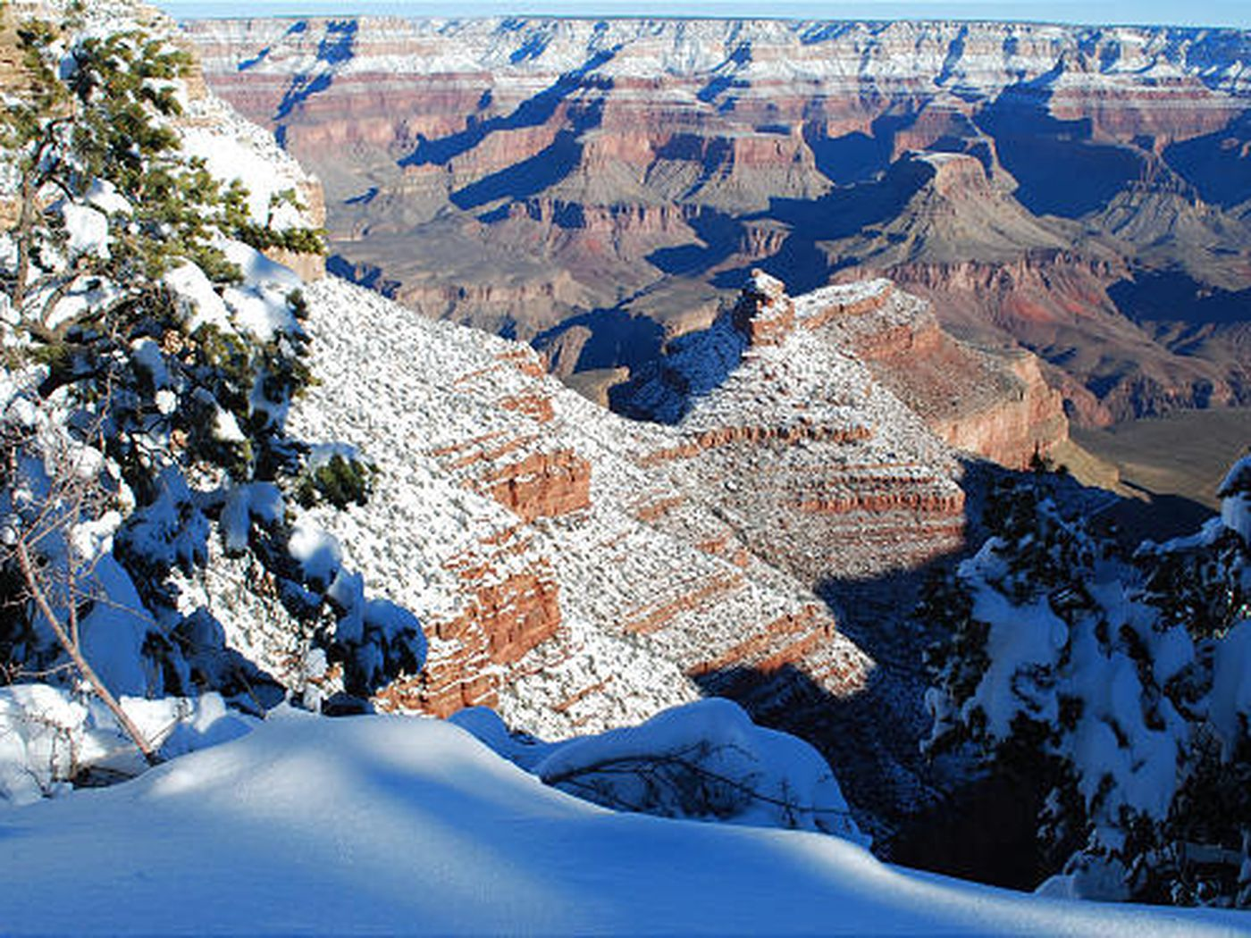 The Grand Canyon In Winter Deseret News