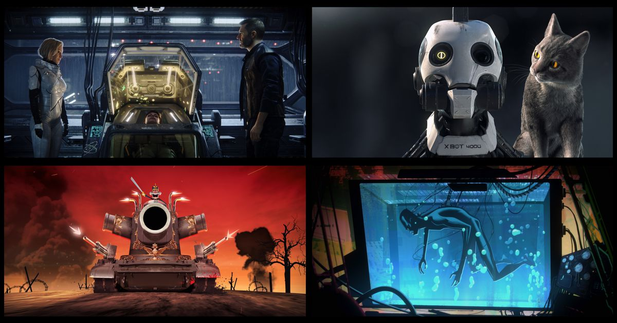 Breaking down Netflix?s Love, Death, and Robots by quantities of love, death, and robots