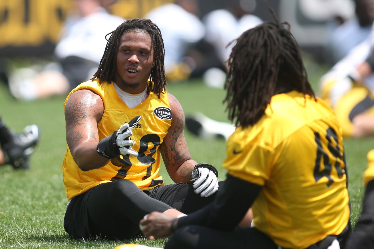 """Keion Adams is """"healthy, confident and excited"""" for next opportunity with Steelers"""