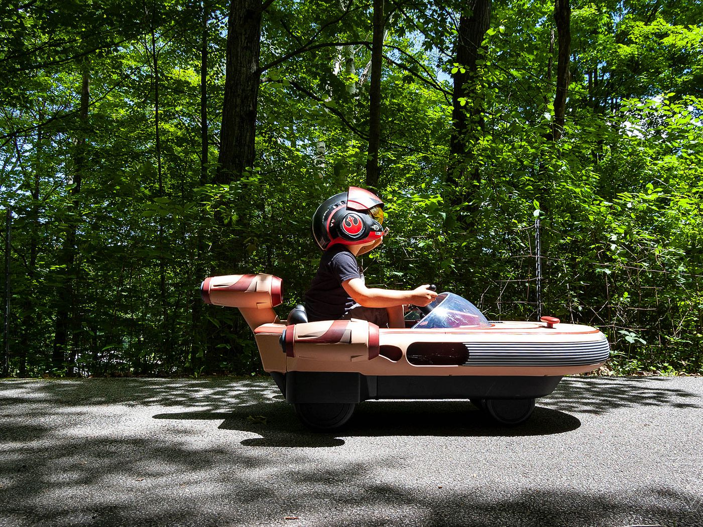I Couldn T Test Drive Radio Flyer S Star Wars Landspeeder But My 5 Year Old Did The Verge