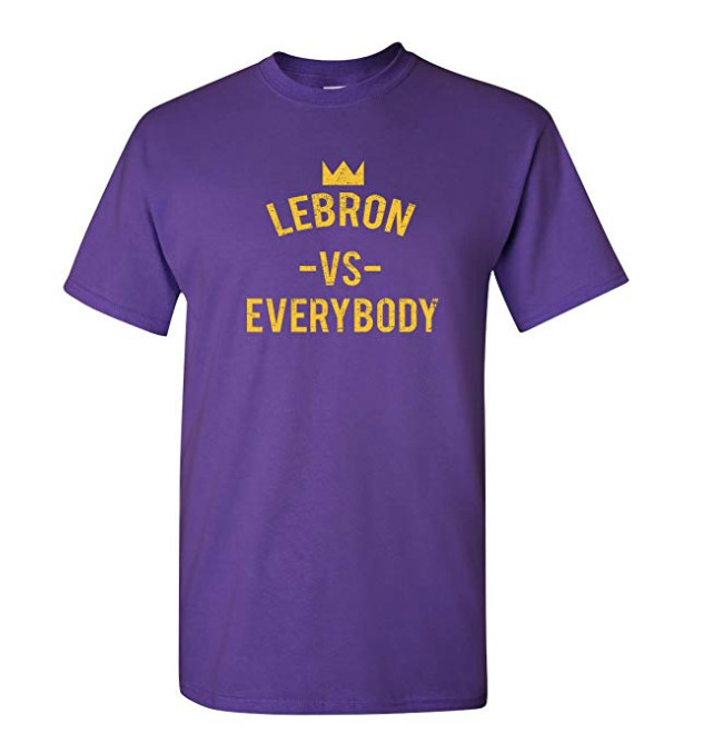 separation shoes 0d089 df00a LeBron James Lakers jerseys and t-shirts now available ...