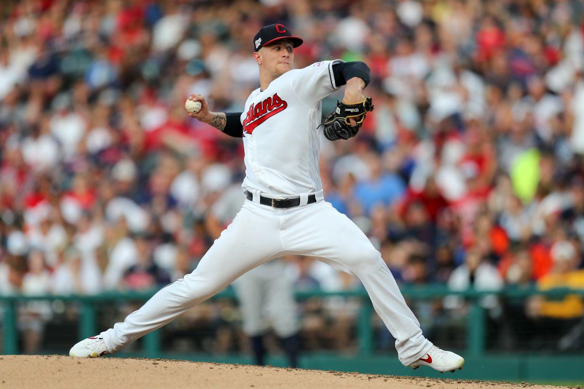 MLB: JUL 31 Astros at Indians