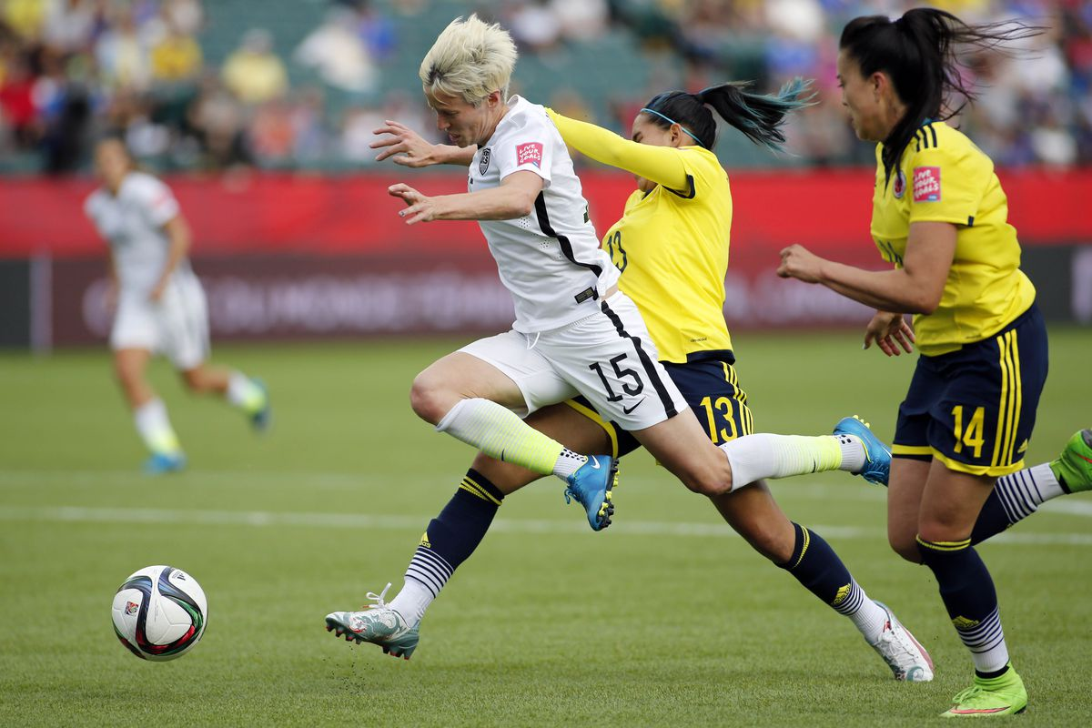 USA vs. Colombia, 2015 Women's World Cup: USWNT sneak by ...