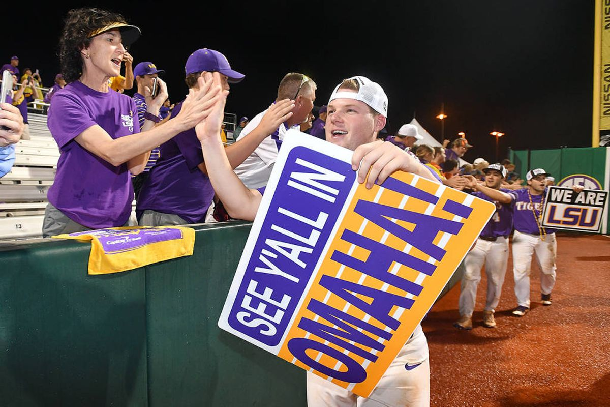 LSU names Scalise honorary CWS coach, will send game ball