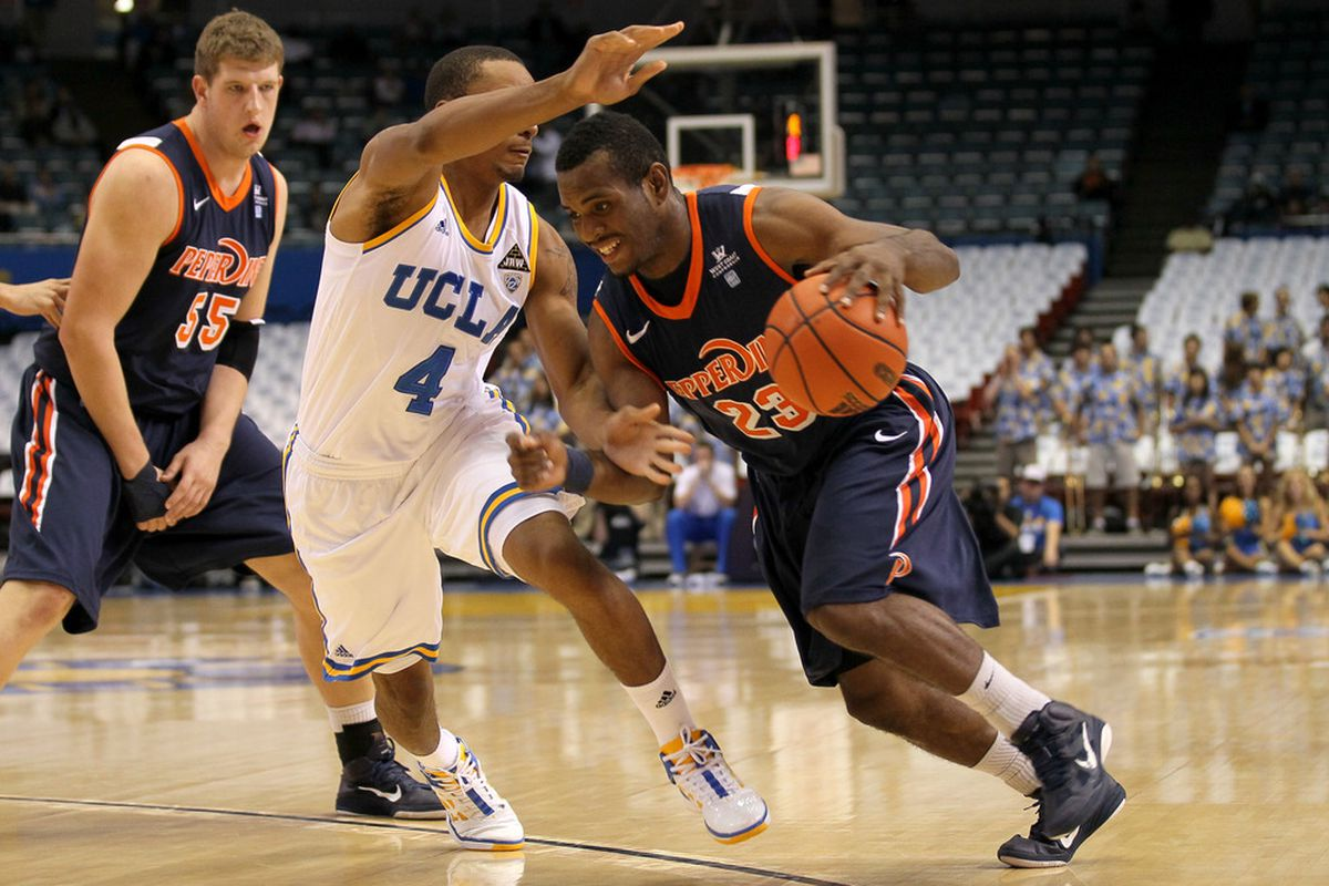 When Caleb Willis does this, expect him to eventually pass it - he leads the Waves in assists, but shoots just 26 percent on 2s.