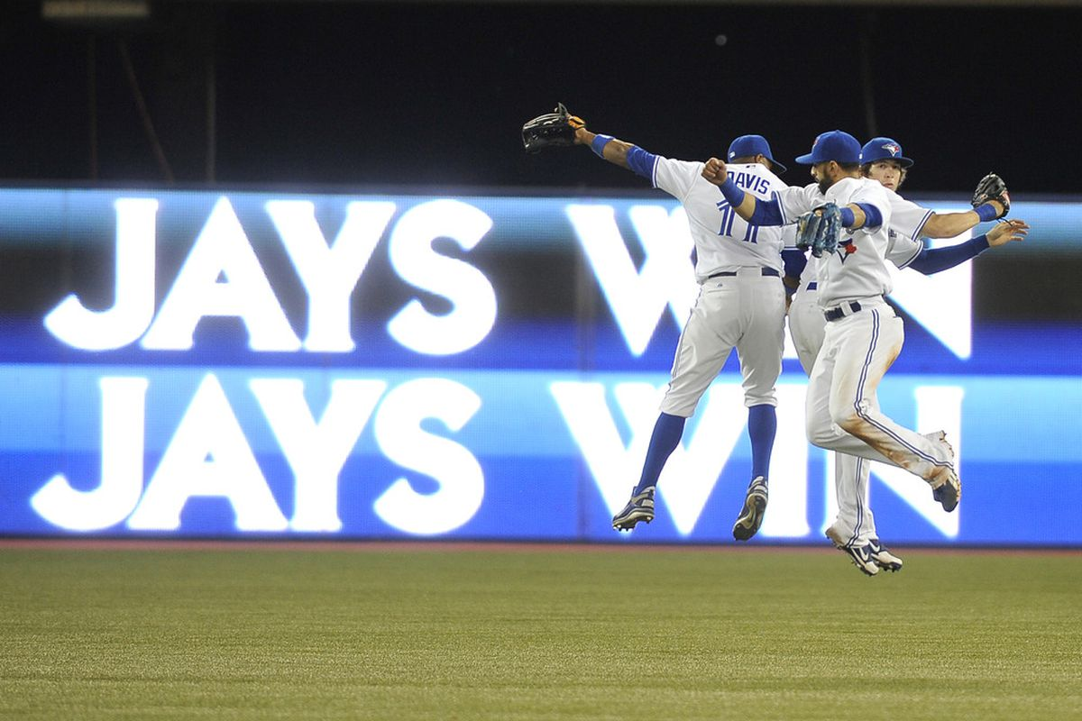 Eh guys!! (Photo by Brad White/Getty Images)