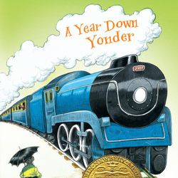"""Larraine Nelson recommended """"A Year Down Yonder"""" by Richard Peck."""