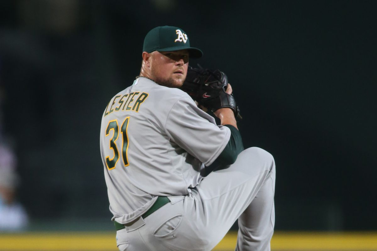 Don't expect to see Lester in Angels' red next season.
