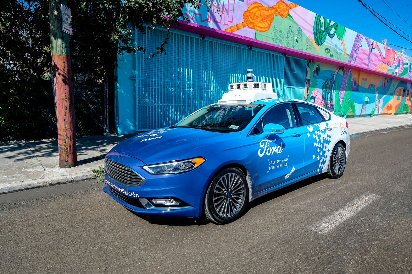 ford s self driving cars are really good but are they good enough to win