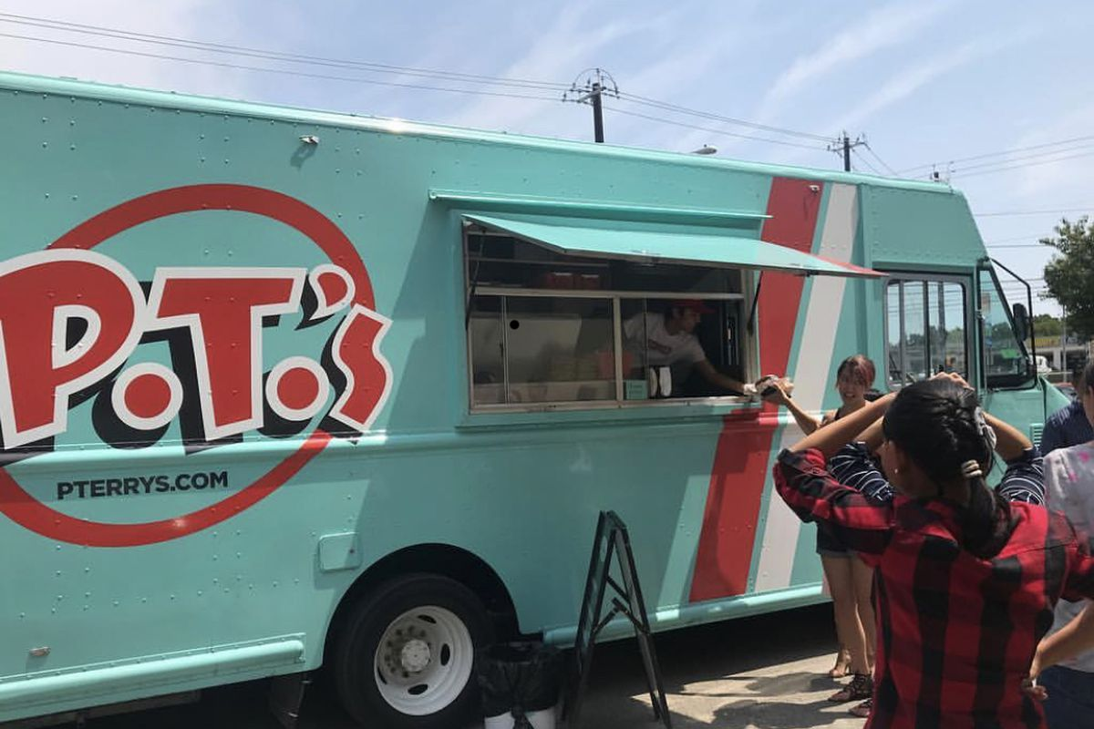 P. Terry's food truck