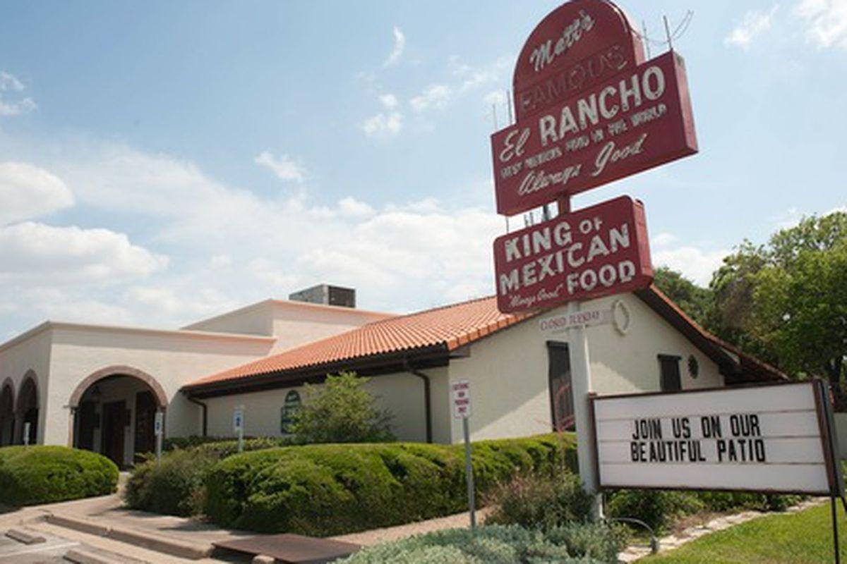 Matt's El Rancho.