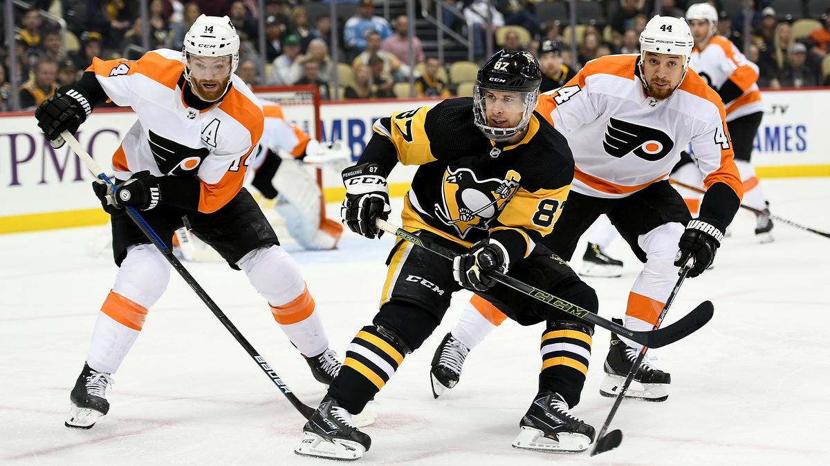 NHL: OCT 29 Flyers at Penguins