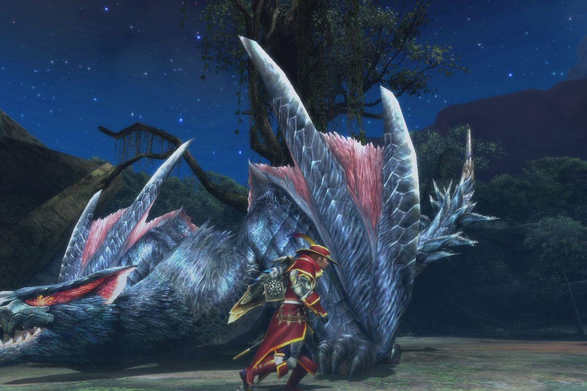 Nargacuga returns to monster hunter ultimate polygon