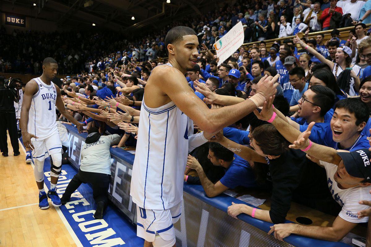 NCAA Basketball: Miami at Duke