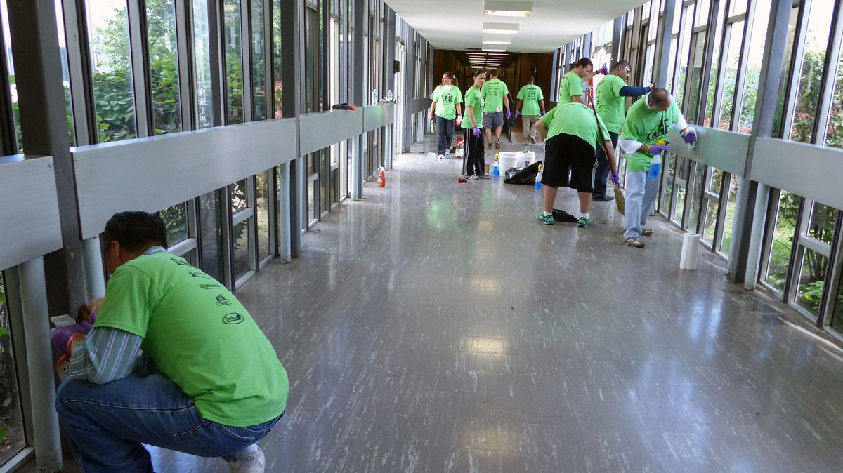 The non-profit Life Remodeled organized donations and volunteers to renovate Osborn High School, which could now be closed by the state.