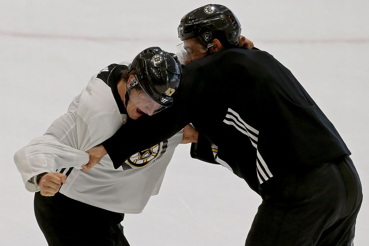 Boston Bruins Practice