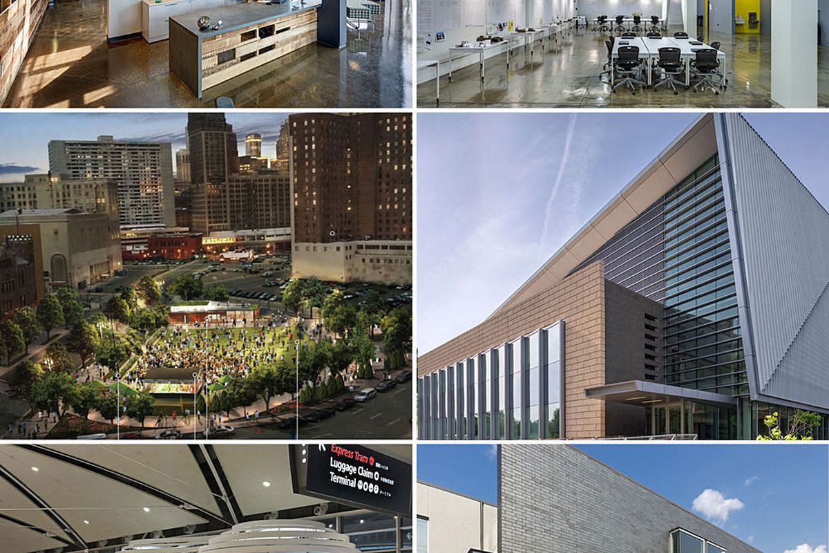 aia detroit awards eight local architecture firms 11 projects