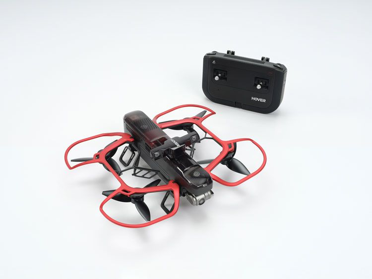 The makers of the selfie drone camera are Kickstarting its sequel