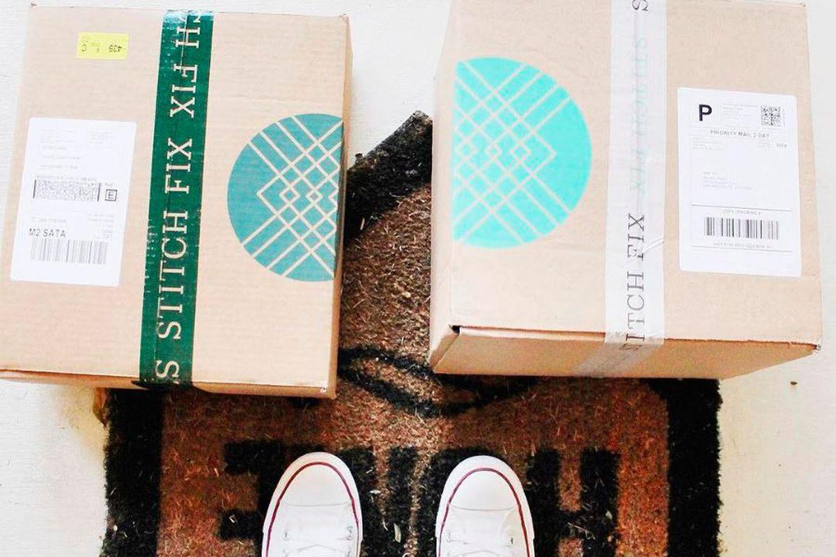 Photo of Stitch Fix boxes