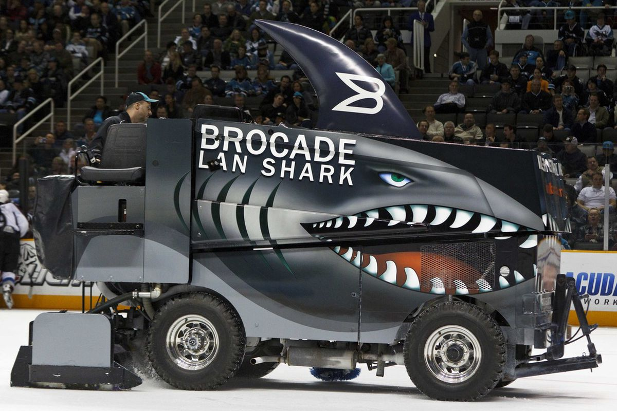 Time to clean the Shark Tank...   Photo Credit: Jason O. Watson-US PRESSWIRE