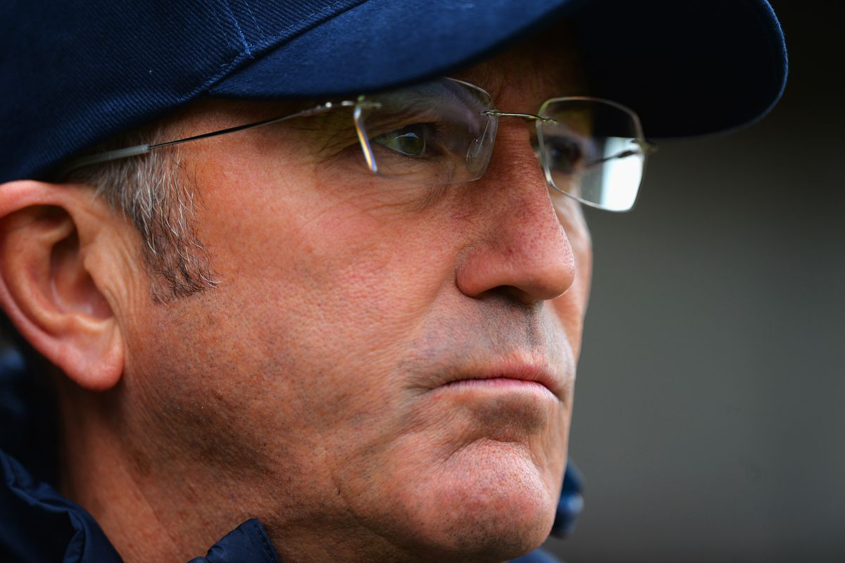 Tony Pulis and his 90210 sideburns spent Friday night in Chester.