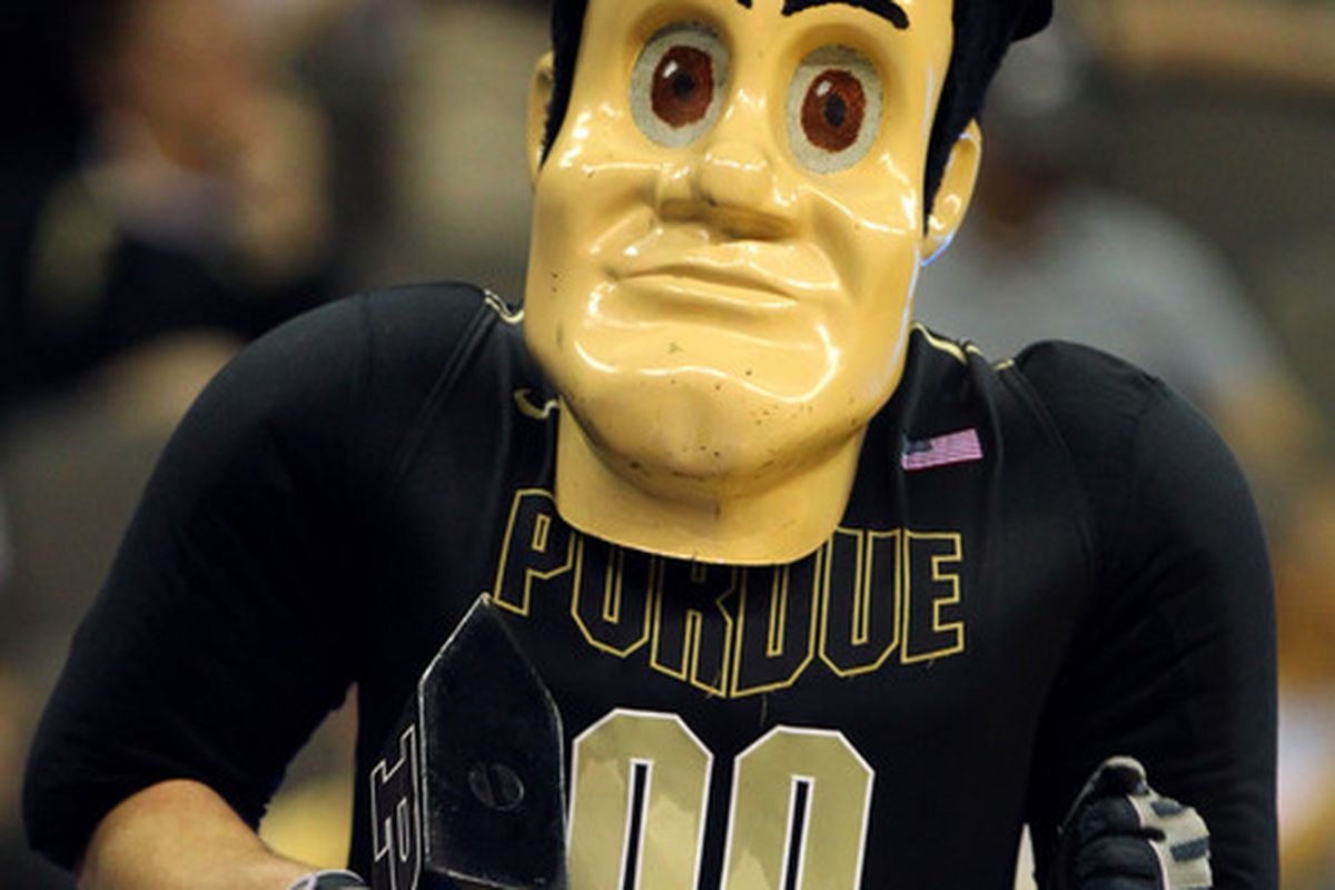 Purdue - DON'T STARE BACK IT ONLY FEEDS THEM AND MAKES THEM STRONGER!