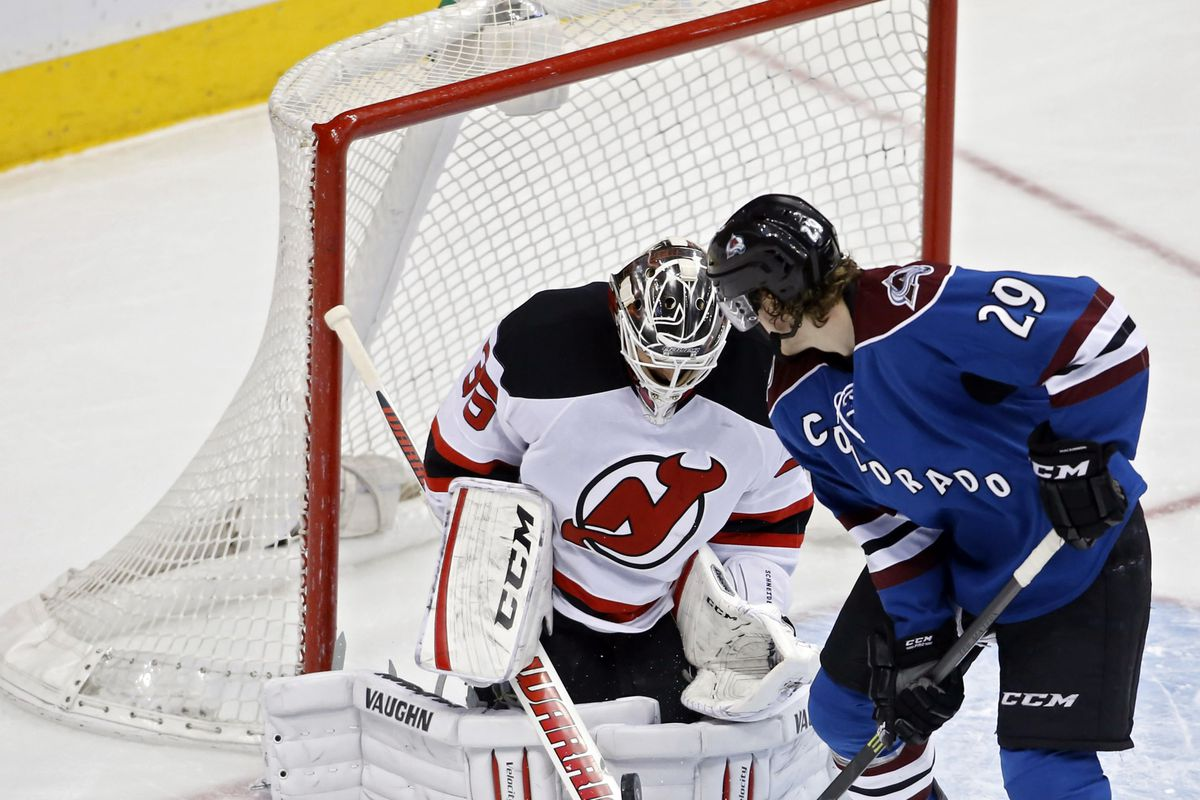Let's hope for fewer Avalanche players being right up front and more of the Devils doing something similar.