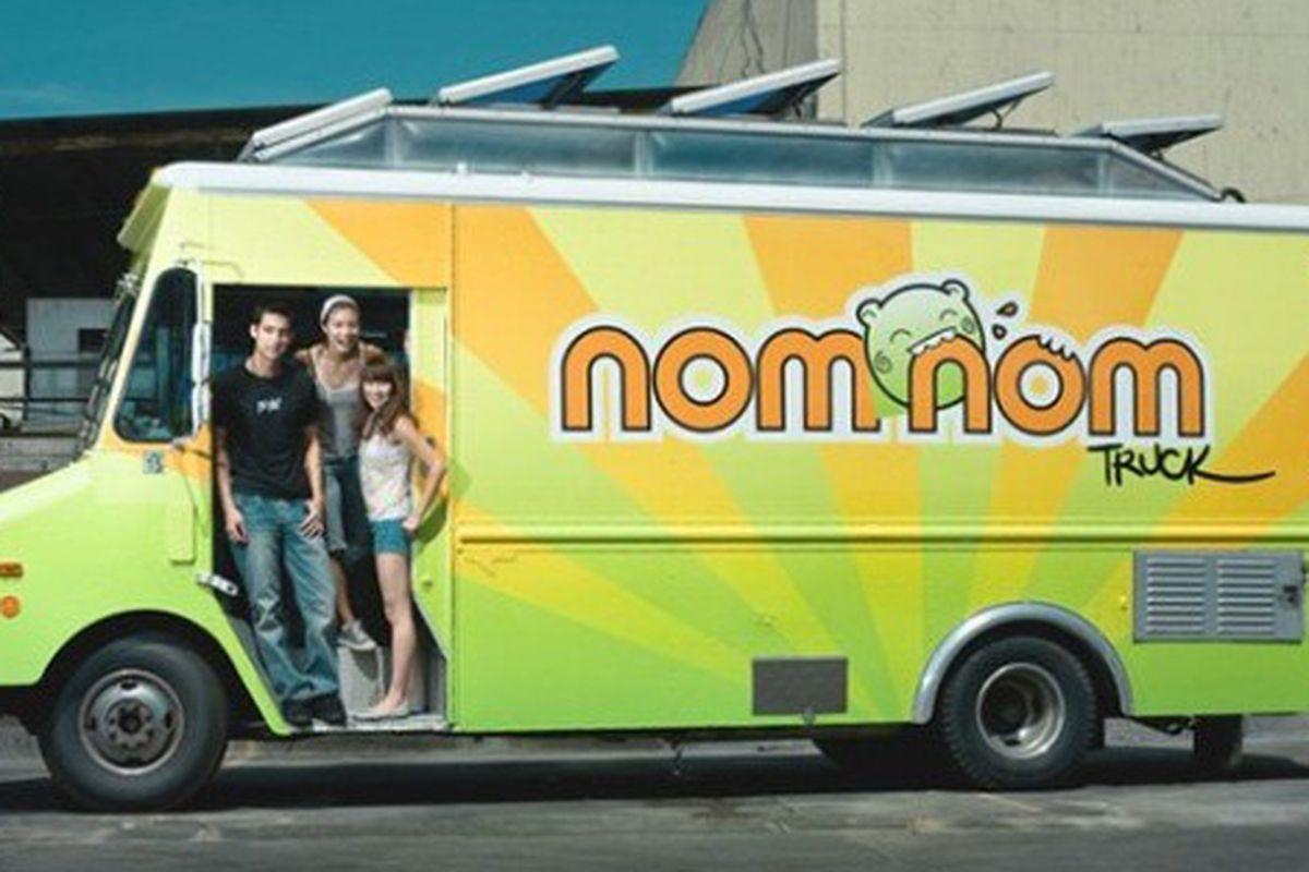 Nom Nom Truck, now rolling.