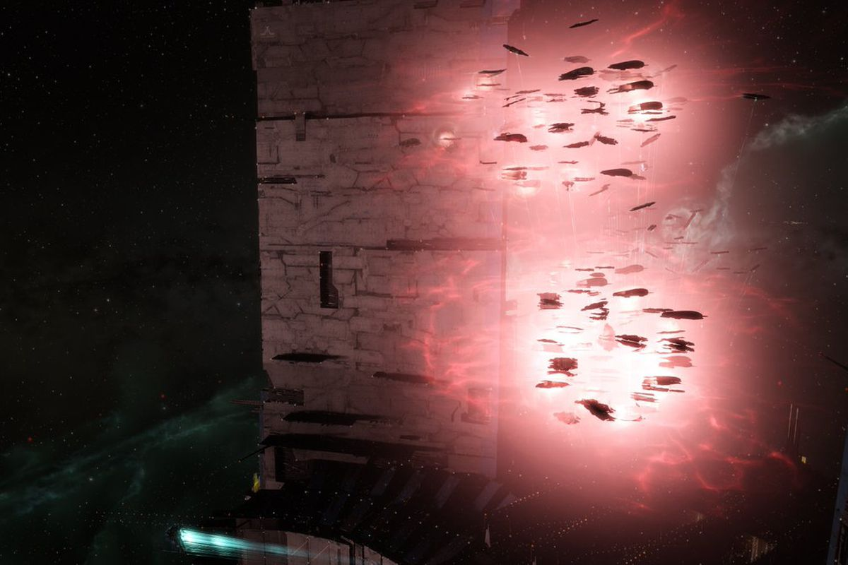 Is Eve Online buckling under the weight of its massive set-piece