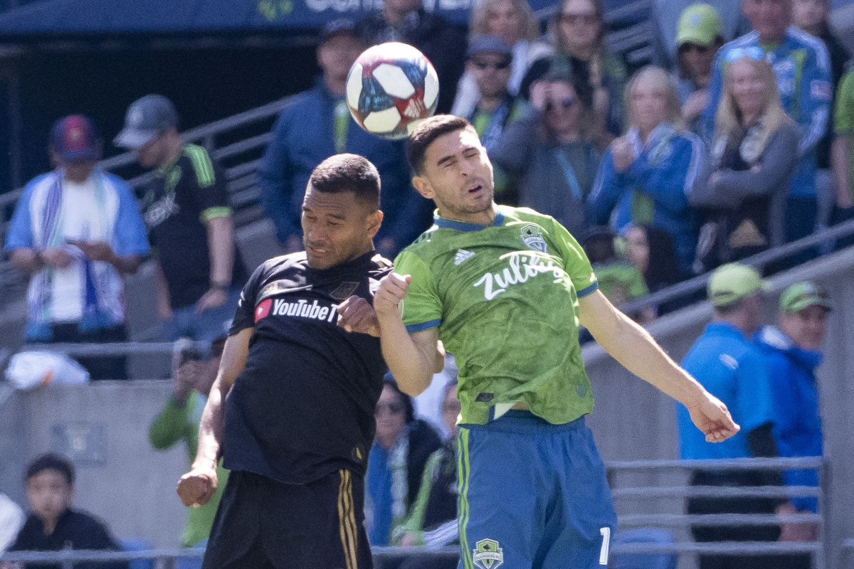 SOCCER: APR 28 MLS - LAFC at Seattle Sounders FC