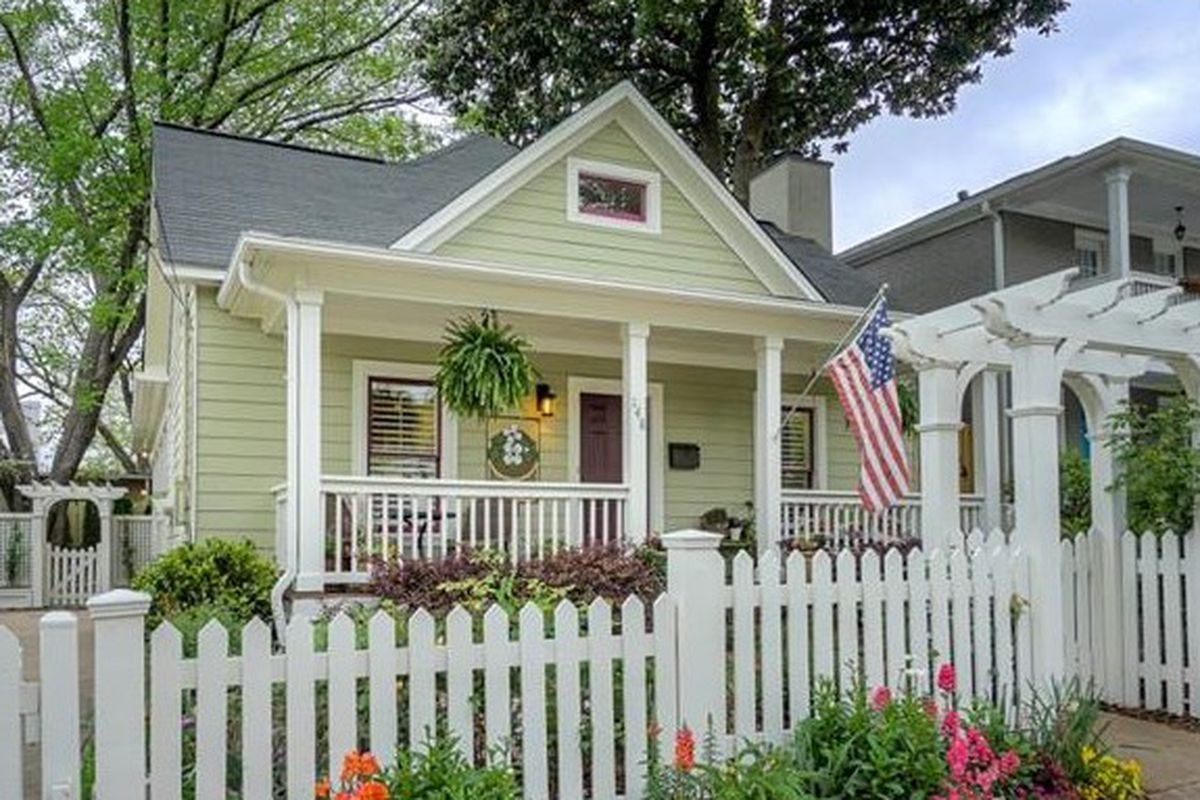 Picturesque Old Fourth Ward Cottage Hopes To Fetch 730k