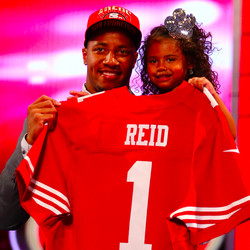Eric Reid at 2013 NFL Draft
