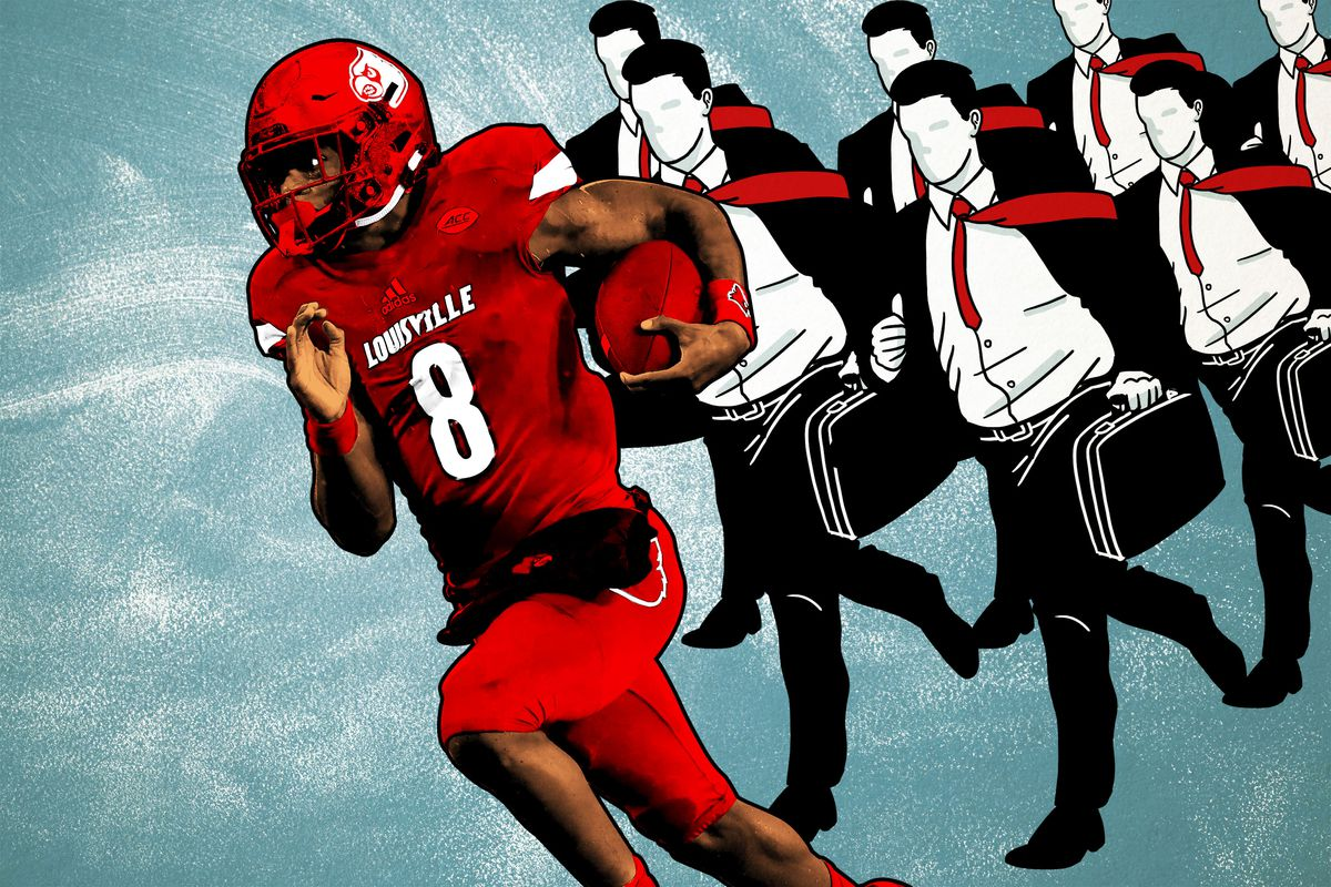 Lamar Jackson s Decision to Not Hire an Agent Could Blaze a Trail ... 5aaf7344b
