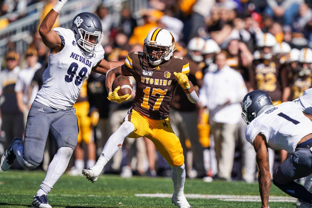 NCAA Football: Nevada at Wyoming