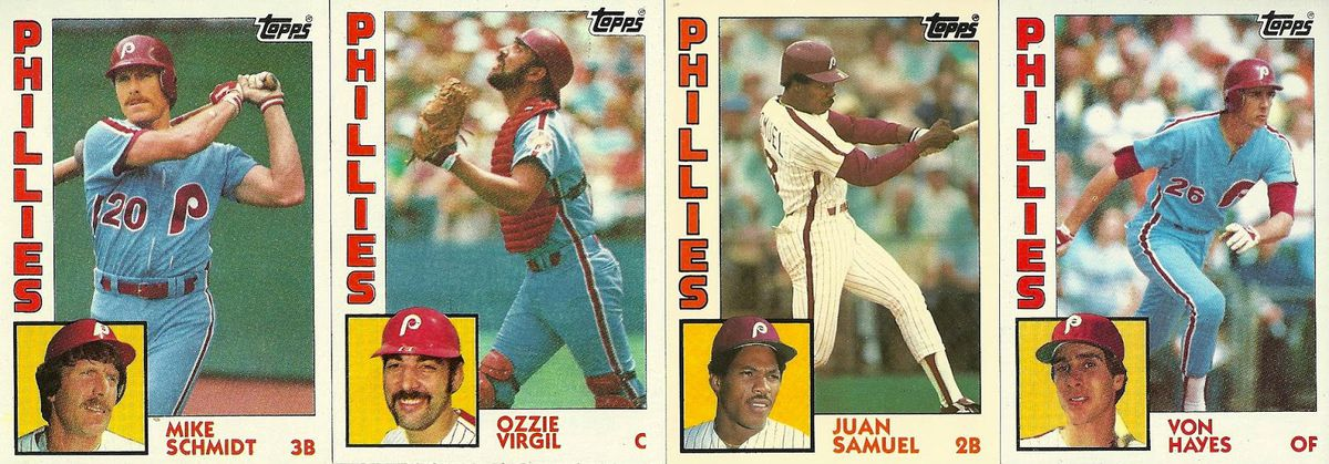 Ranking The Designs Of Topps 1980s Baseball Cards The Good