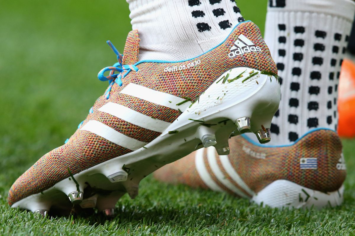 2e797e624fa2 Luis Suarez hands adidas Samba Primeknit a scoring debut at Old Trafford