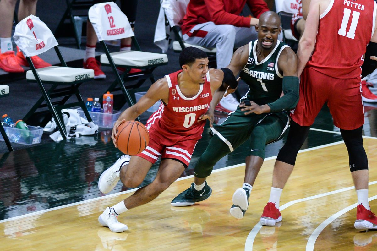 COLLEGE BASKETBALL: DEC 25 Wisconsin at Michigan State