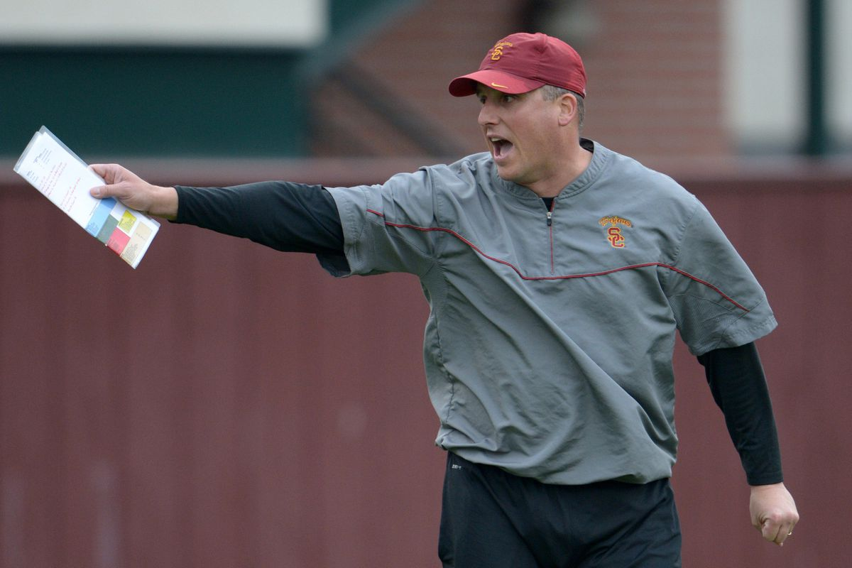 Clay Helton will be in charge during the bowl game, but will he have a job after?