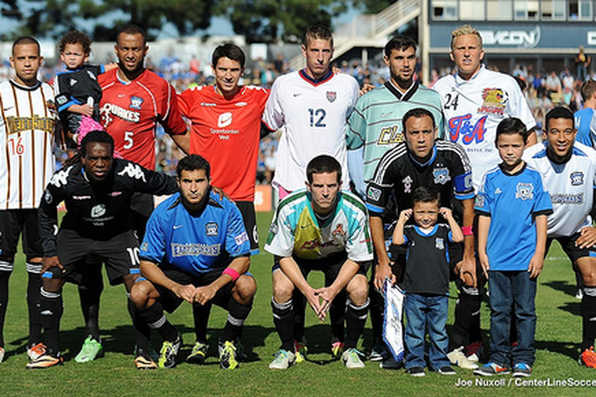 San Jose jerseys (and then some) through the ages. Thanks, Ramiro!