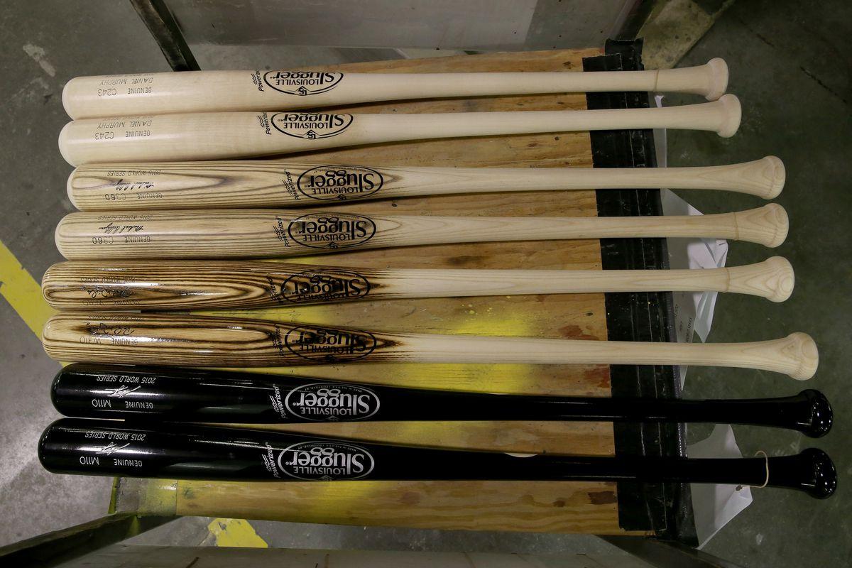 Louisville Slugger New York Mets World Series Bats
