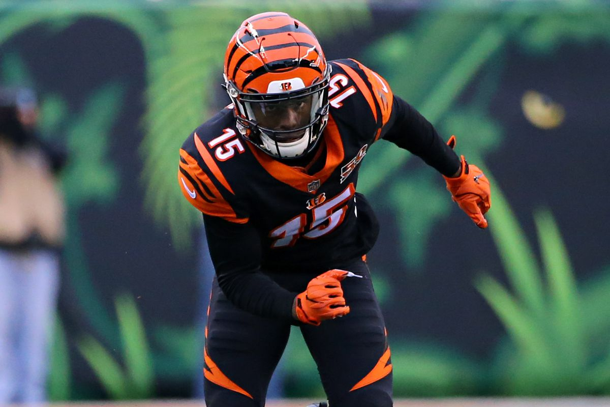 NFL Week 10 injury report Bengals at Titans inactives John Ross