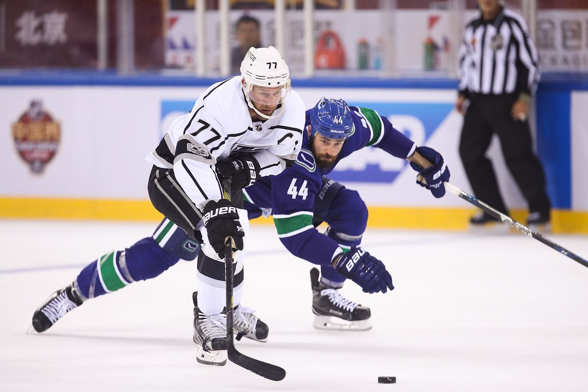 2017 NHL China Games - Los Angeles Kings v Vancouver Canucks