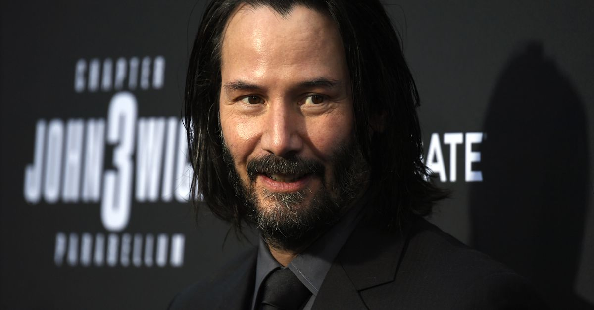 Kids won't stop coming up to Keanu Reeves to call him 'Fortnite guy'