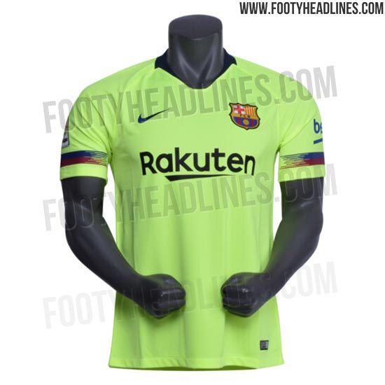d0ecd1141 Barcelona 2018 19 away kit leaked - Barca Blaugranes