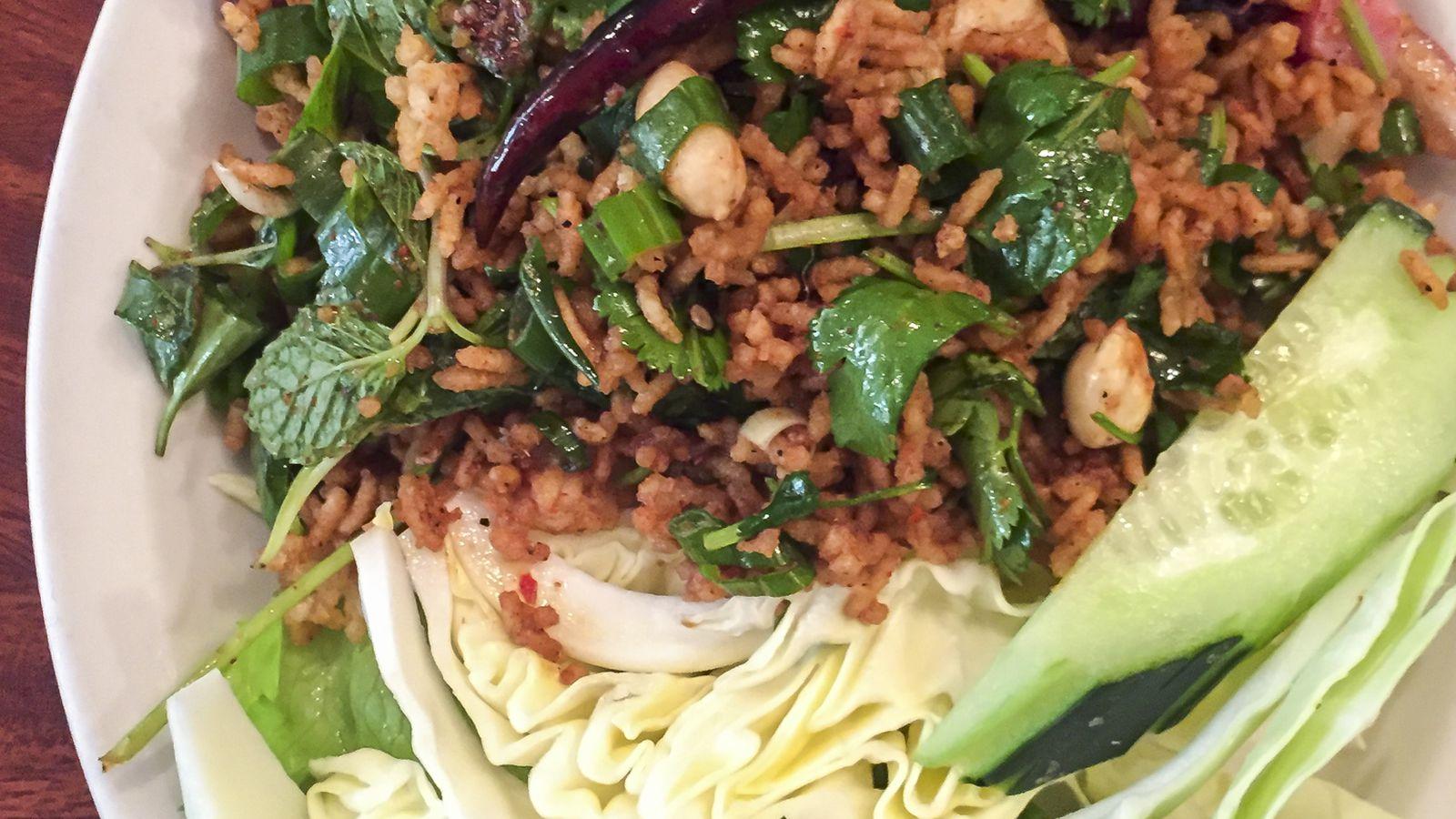 Lotus Vegetarian Kitchen Lunch Menu