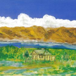 """""""Bear Lake,"""" by Russ Fjeldsted, Mountain Place Gallery."""