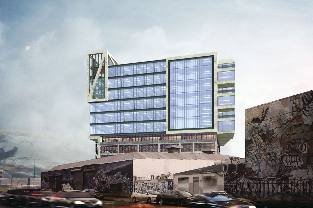 office building architecture design. The 11-story Project Planned For Hewitt And Fourth In Arts District. Renderings By Gensler. Courtesy Of Legendary Developments Office Building Architecture Design O